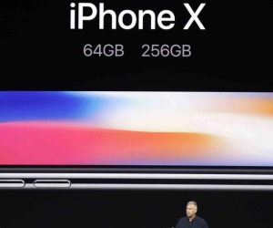 Presenta Apple iPhone X