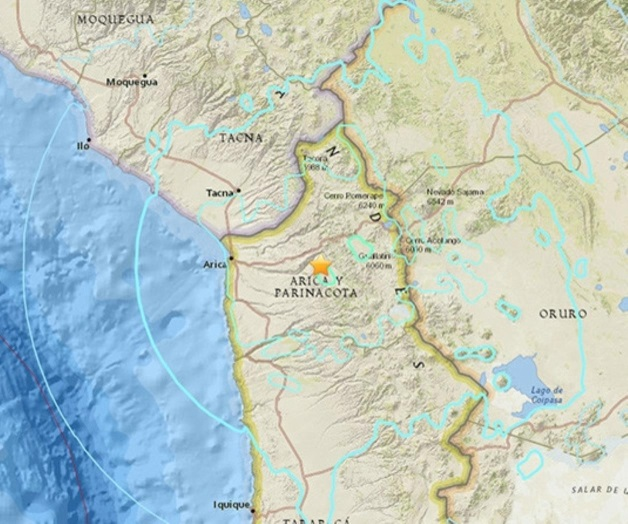 Terremoto de 6.3 remece el norte de Chile