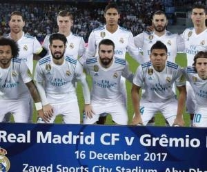 Gremio Vs. Real Madrid (Final Mundial de Clubes EAU 2017)