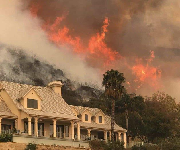 Incendio, tercero mayor en historia de California