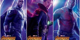 Avengers: Infinity War lanza posters individuales