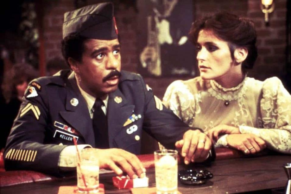 Richard Pryor y Margot Kidder en Un héroe en apuros del año 1981. COURTESY EVERETT COLLECTION