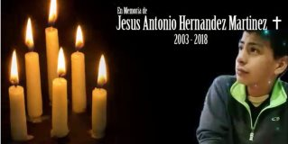 Despiden con emotivo video compañeros de secundaria a Jesús Antonio