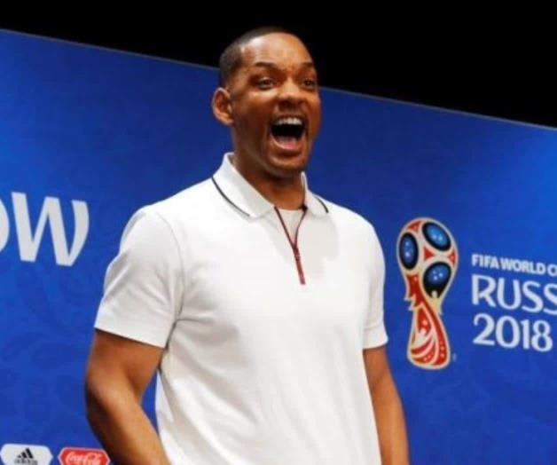 El actor Will Smith es fanático de Neymar