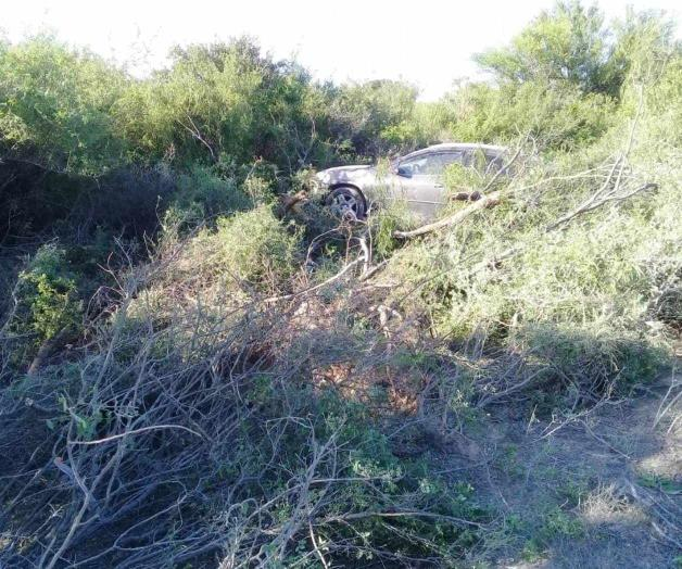 Resultan heridos en accidente adulto y menor reynosenses en San Fernando