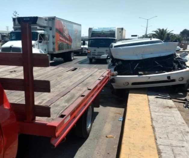 Causa accidente tras falla de frenos
