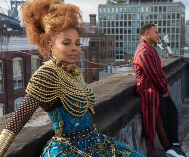 "Janet Jackson y Daddy Yankee lanzan video de ""Made For Now"""