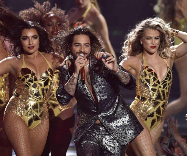 Debuta Maluma en los Video Music Awards
