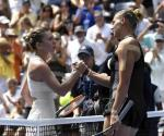 Se despide Halep del US Open