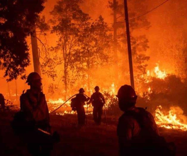 Incendio consume nueve mil hectáreas en California