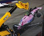 No olvida Esteban Ocon incidente con ´Checo´
