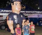 Invita la Policía al National Night Out