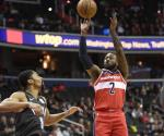 Wall anota 30 puntos y Wizards vence a Nets