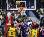 Wall brilla y Wizards doblegan a Lakers