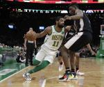 Doble-doble de Irving y Celtics vence a Wizards