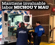 Mantiene invaluable labor Michou y Mau