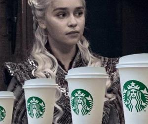 Un vaso de Starbucks apareció en Game of Thrones
