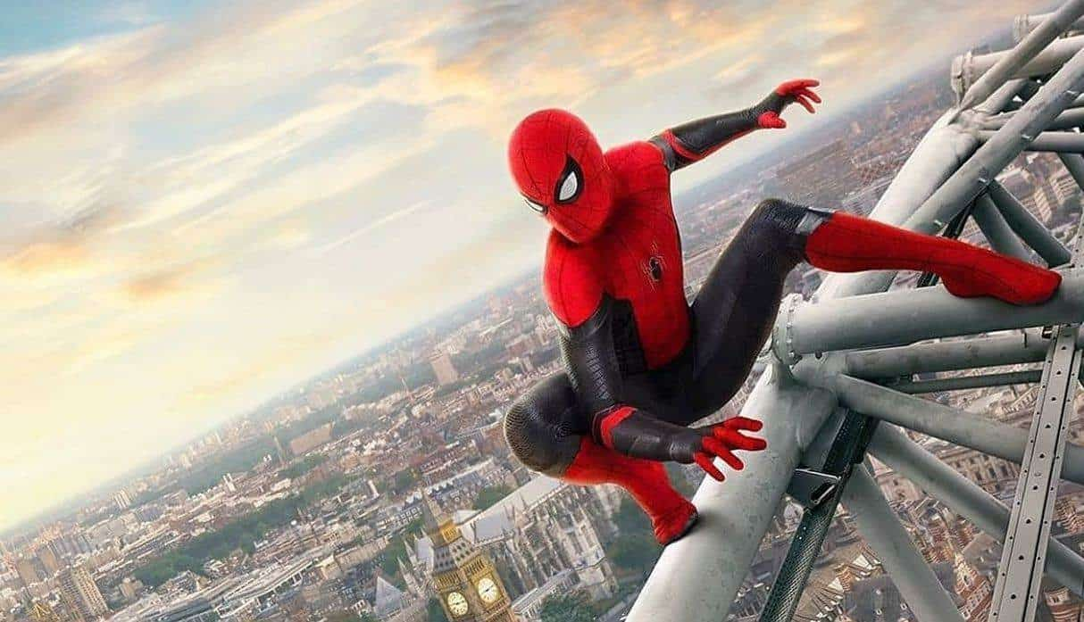 """Spider-Man: Far From Home""""."""