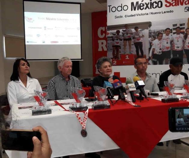Invitan a carrera de la Cruz Roja