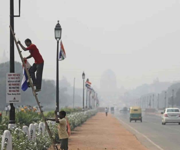 Aumenta contaminación en la capital de India