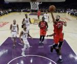 Cortan Raptors racha de Lakers