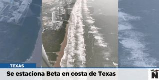 Se estaciona Beta en costa de Texas
